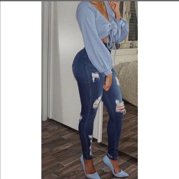 7f7071da85c8a Monotiques Heavy High Rise Skinny Jeans